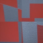 Red Gray Grid 1, archival pigment print, 22x33 inches, 2009