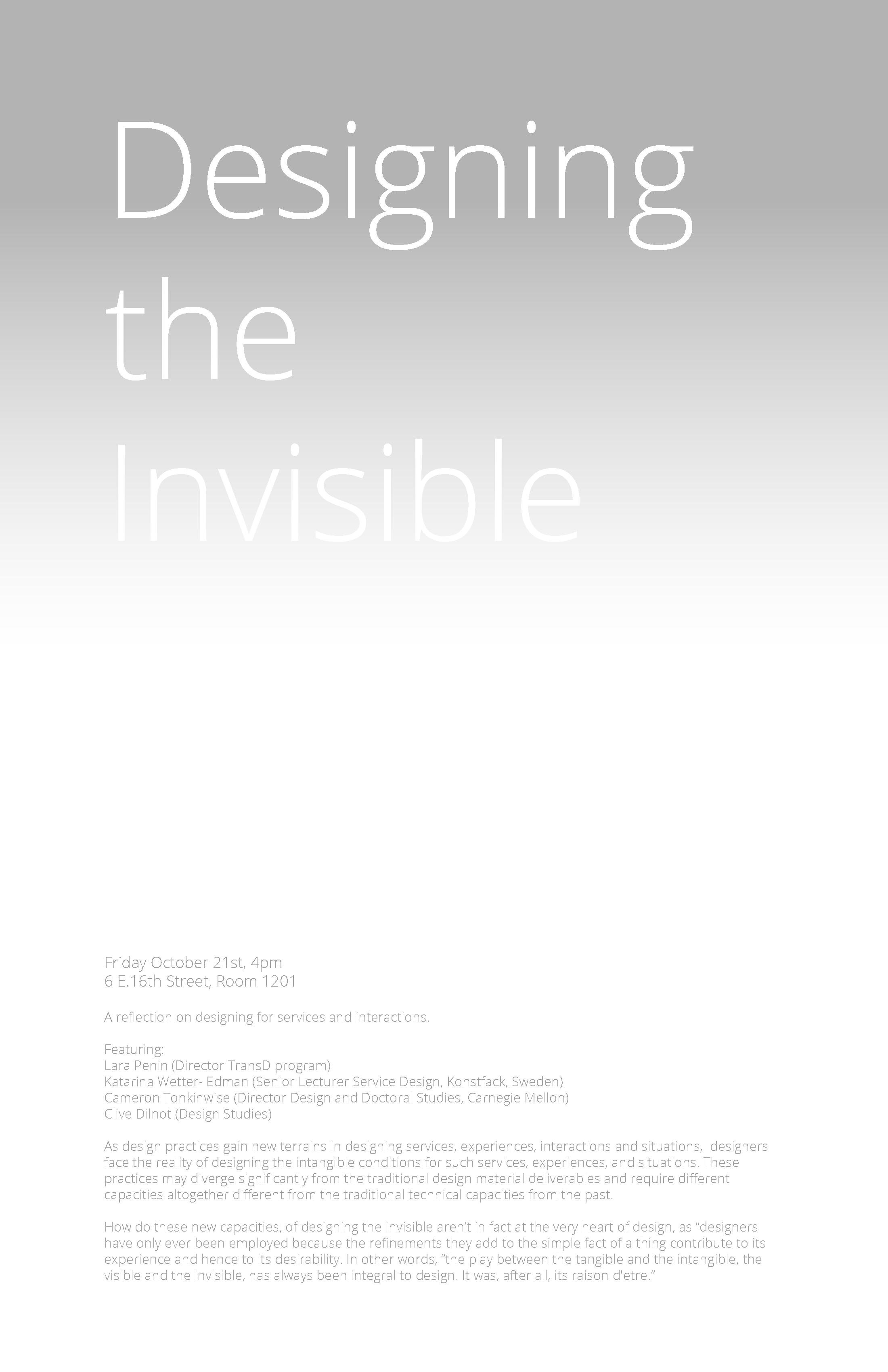 designingtheinvisible