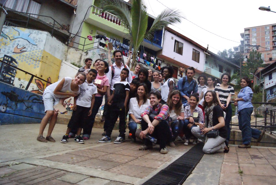 D-UE students in Medellin, Colombia