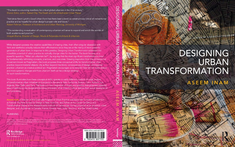 Designing Urban Transformation Book Cover