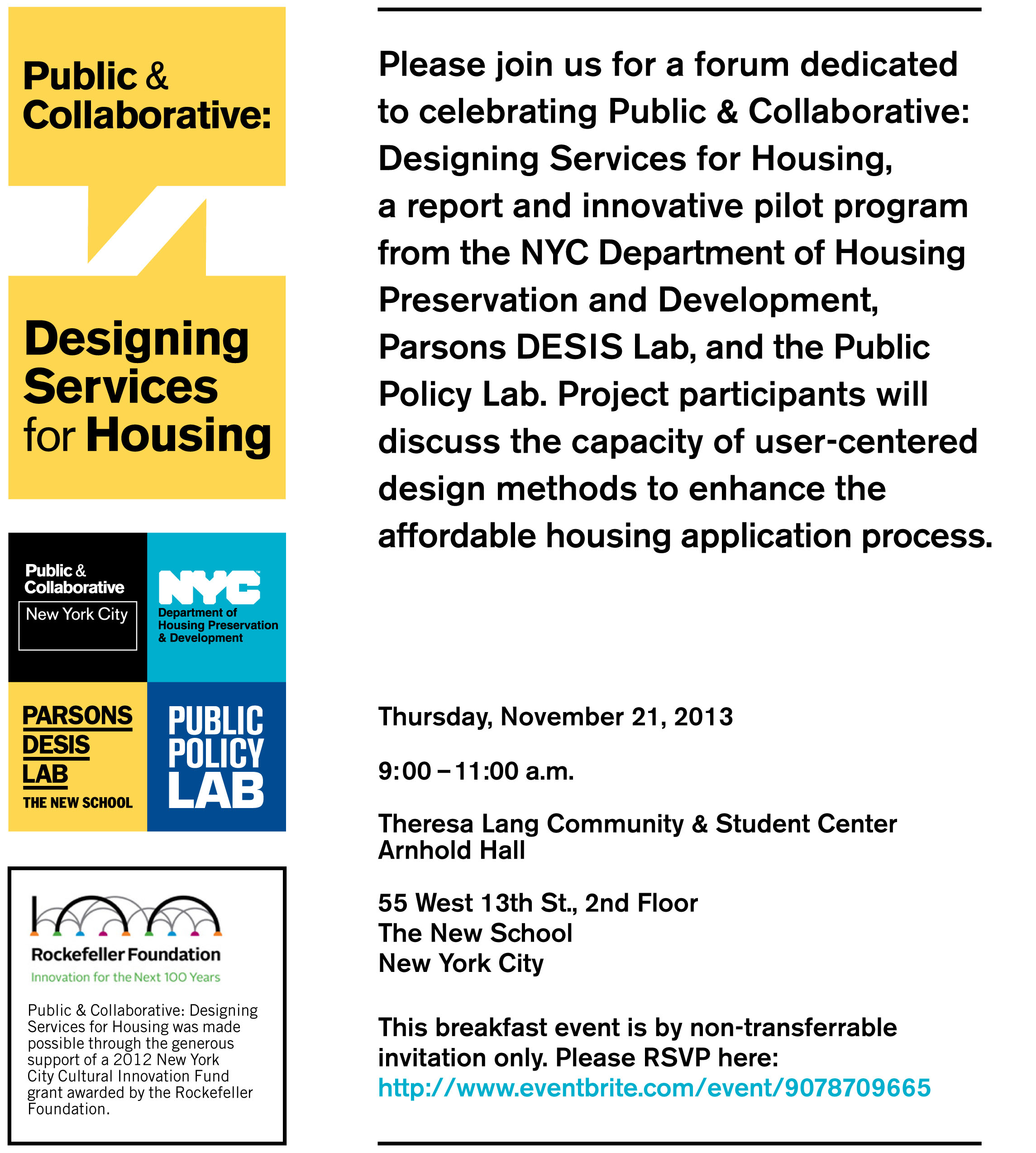 Public Amp Collaborative Designing Services For Housing