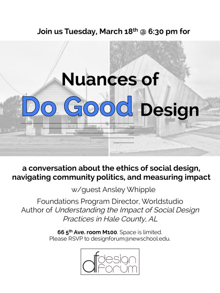 DF Social Design Convo Flyer