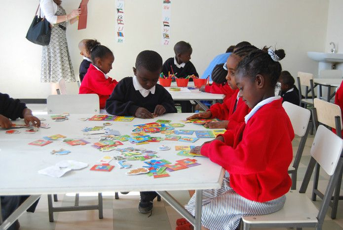 St.George's School, Ethiopia - Alison Mears