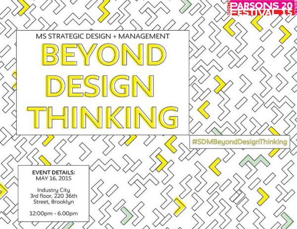 Strategic Design + Management at Parsons Festival