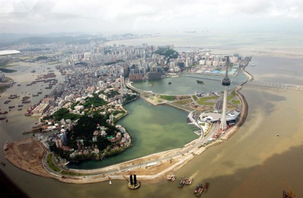 Macau from above