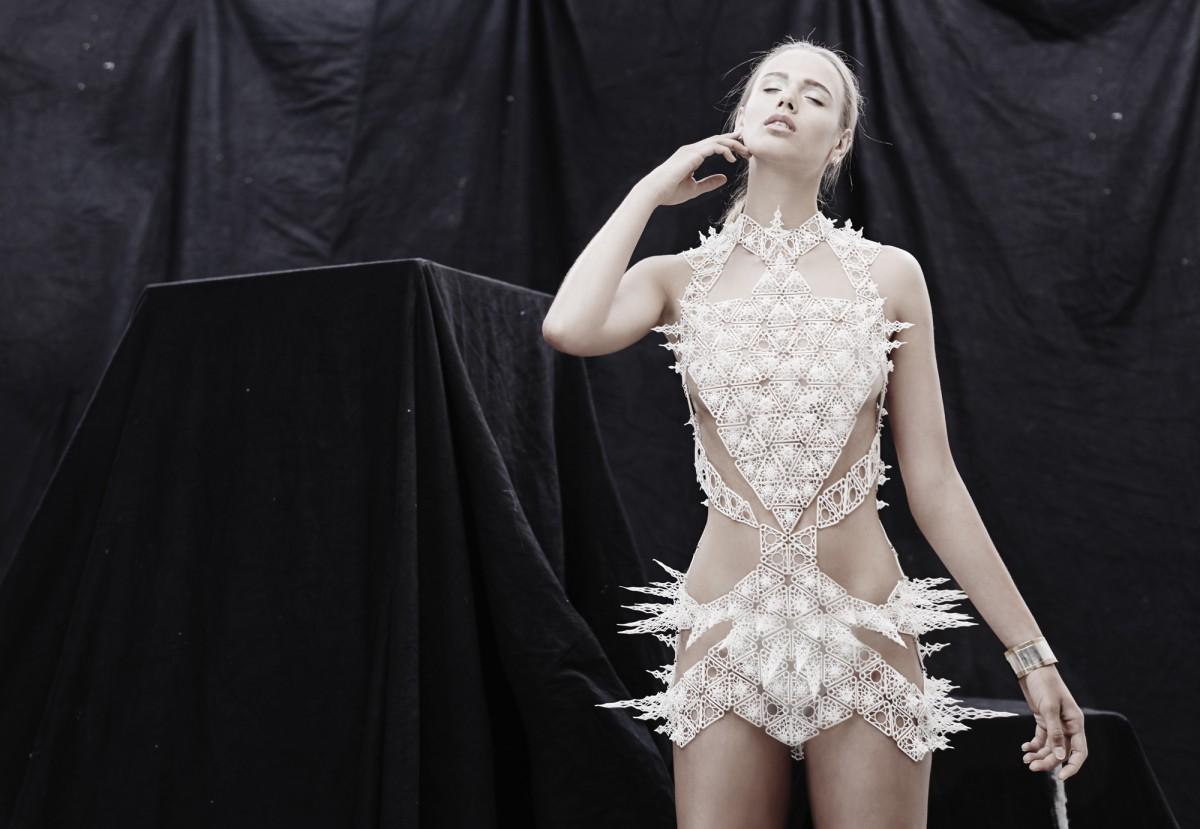 Alumni Alexis Walsh at New York Fashion Week